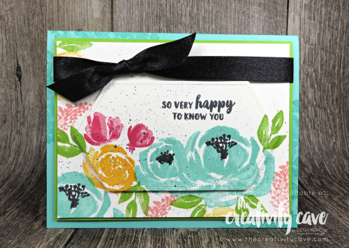 A Special Video Tutorial for this project is on my blog at www.thecreativitycave.com featuring Stampin Up's Beautiful Friend Stamp Set and the Stitched Nested Labels Dies #stampinup #thecreativitycave #beautifulfriend #stitchednestedlabels
