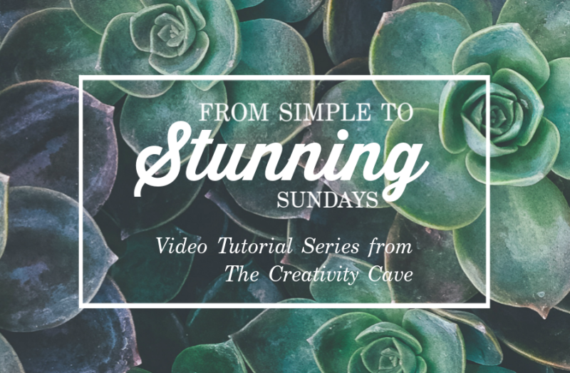 Simple to Stunning Sundays Thumb