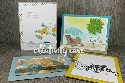Beautiful cards from my mailbox.  See more on my blog www.thecreativitycave.com #stampinup #thecreativitycave #handmade