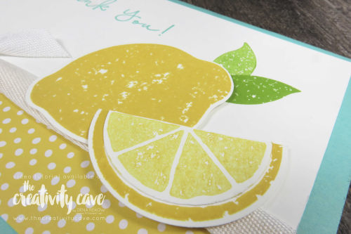 Check out the video tutorial for two happy spring cards including this and one other featuring Stampin Up's Jar of Love, Friendly Expressions, Lemon Zest and Another Wonderful Year Stamp Sets and coordinating Everyday Jar Framelits and Lemon Builder Punch on my blog at www.thecreativitycave.com #stampinup #thecreativitycave #videotutoriral #everydayjarframelits #framelits #paperpunch #lemonzest #create