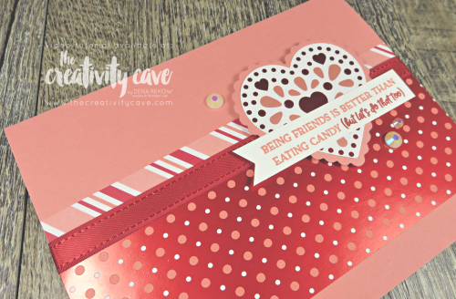 Check out the video tutorial for two cards featuring a great layout using different printed papers from Stampin Up's 2020 Occasions Catalog on my blog at www.thecreativitycave.com #stampinup #heartfelt #alldressedup #handmade #greetingcards #videotutorial