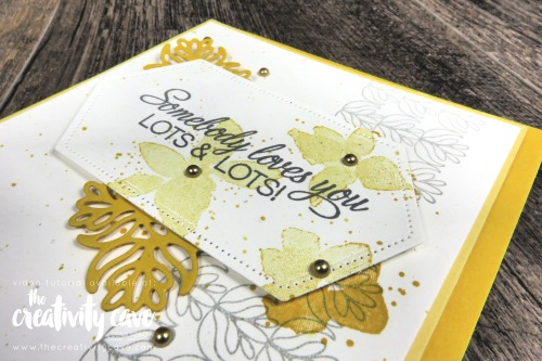 Check out the video tutorial for this and 4 other amazing cards from my blog featuring Stampin Up's Floral Frame, Parcels and Petals, Abstract Impressions, Good Morning Magnolia, and Sailing Home Stamp Sets on my blog at www.thecreativitycave.com #stampinup #thecrativitycave #goodmorningmagnolia #sailinghome #create #stitchednestedlabelsdies #stitchedrectangles #framelits #sailinghome