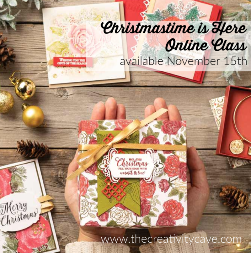 Christmastime is here online class