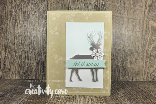 Check out the video tutorial for these two cute Paper Pumpkin Alternatives for the November 2019 Winter Gifts Box! Don't forget when you subscribe through The Creativity Cave you'll receive 12-15 additional card tutorials each month to create even more awesome stuff from your kits at www.thecreativitycave.com #stampinup #thecreativitycave #paperpumpkin #wintergifts #subscriptionbox #create #diy #easy #handmade #cardmaking