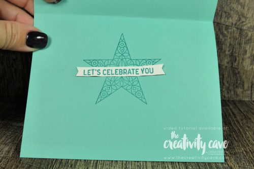 Check out the video for this fun star card featuring Stampin Up's So Many Stars Stamp Set and coordinating Stitched Stars Dies on my blog at www.thecreativitycave.com #stampinup #thecreativitycave #somanystars #alloccasioncard #handmade #cardmaking #paper #framelits #glitter