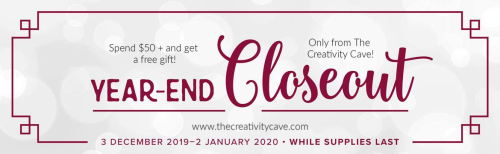 Grab your free gift on all orders placed over $50 at The Creativity Cave! www.thecreativitycave.com #stampinup #thecreativitycave #create #handamde #fun #giftwithpurchase