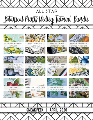 Botanical Prints Sneak Peek