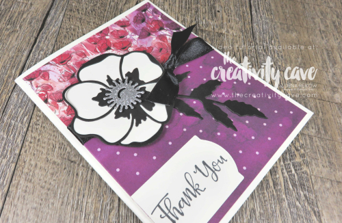 Check out the video tutorial for this adorable table top calendar (and coordinating card) using Stampin Up's Peaceful Poppies Suite of gorgeous projects on my blog at www.thecreativitycave.com #stampinup #thecreativitycave #peacefulpoppies #2020Occasionscatalog #onlineclass