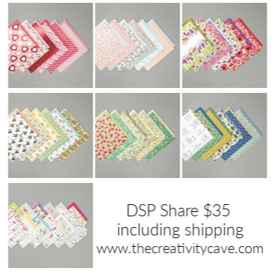 Grab your DSP share from The Creativity Cave Today at www.thecreativitycave.com