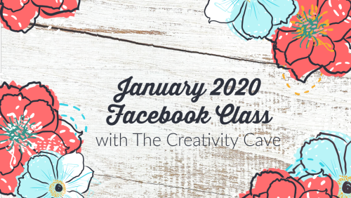 Register for January's Facebook Class from The Creativity Cave featuring 3 LIVE events which include 9 card layouts, 27 card samples and 27 color combinations per month! Class is created to designed to give you tips and tricks for improving your stamping quality, speed and enjoyment!  Facebook Group encourages sharing of projects each month and of course a group filled with people who love to stamp! Cost is $25 for January only or $15 when you subscribe for a year! Details on my blog: www.thecreativitycave.com