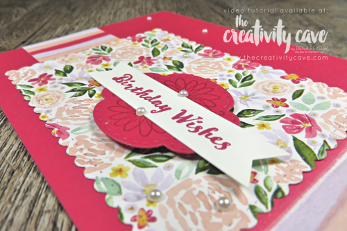 Check out the fabulous projects from my YouTube Live on my blog at www.thecreativitycave.com #stampinup #thecreativitycave #handmadegreetingcards #create #heartfeltbundle #watercolor #wellsaid #wellwritten #sosentimental #bestdresseddsp #tropicaloasis #printedpaper #fun