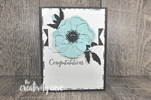 Fabulous video tutorial with lots of tips and tricks for enhancing your poppy projects featuring Stampin Up's Painted Poppies and Peaceful Moments Bundles on my  blog at www.thecreativitycave.com #stampinup #thecreativitycave #handmade #create #bigshot #dies #framelits #pretty #poppies #peacefulmoments #paintedpoppies #beautiful #create
