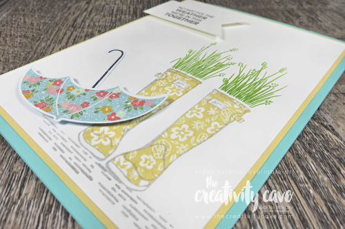 Check out the video for two adorable spring cards featuring Stampin Up's March 2020 Paper Pumpkin Kit and Under My Umbrella Bundle on my blog at www.thecreativitycave.com #stampinup #thecreativitycave #stampinup #paperpumpkin #undermyumbrella #pleasedaspunchDSP #create #spring #easter #happy