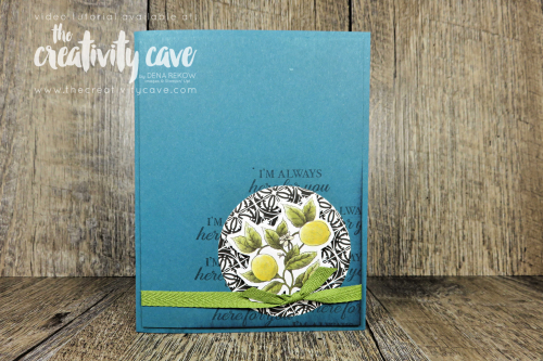 Great Video tutorial for two layouts featuring Printed Paper in your card making on my blog featuring Stampin Up's Botanical Prints DSP at www.thecreativitycave.com #stampinup #printedpaper #scrapabookpaper #pretty #cardmaking #handmade #stampinup #thecreativitycave #awesome