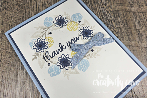 Simple to Stunning Sundays Video featuring Stampin Up's Sweetly Swirled and 3 AWESOME cards on my blog at www.thecreativitycave.com #stampinup #thecreativitycave #keepstamping #simpletostunningsundays