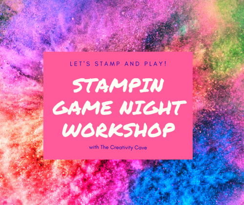 Stampin Game Night Workshop happens the second Tuesday of each month on Facebook Here: https://www.facebook.com/groups/stampingamenightworkshop/ Join the fun today!