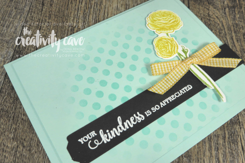 Great video tutorial showing some awesome tips for creating this gorgeous card featuring Stampin Up's Flowering Blooms Bundle on my blog at www.thecreativitycave.com #stampinup #thecreativitycave #handmade #cardmaking #Lovelylabelspickapunch #floweringblooms