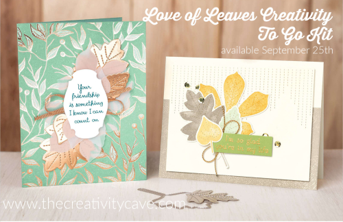 Love of Leaves Creativity To Go Kit