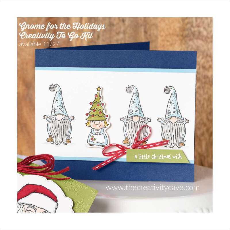 Gnome for the Holidays Creativity TO Go Kit (1)