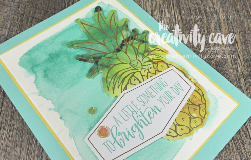 Check out the video tutorial filled with 3 projects featuring Stampin Up's June Paper Pumpkin Box of Sunshine Kit on my blog at www.thecreativitycave.com #stampinup #paperpumpkin #sendingsunshine #watercolor #paperpumpkinalternatives #handmade #subscriptionbox