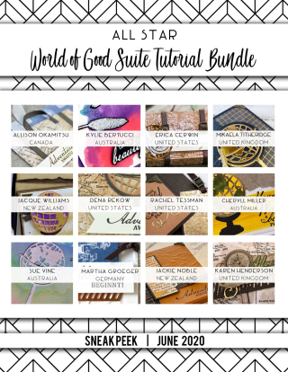 World of Good All Star Tutorial Bundle is available on my blog for $15 or FREE with a $50 catalog purchase! Check out the details here: www.thecreativitycave.com