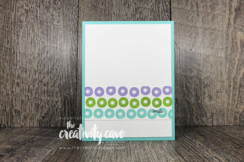 Learn to stamp with this video tutorial for 4 adorable cards featuring Stampin Up's Cute Fruit Stamp Set on my blog at www.thecreativitycave.com #stampinup #thecreativitycave #cutefruit #handmade #learntostamp #quickandeasy
