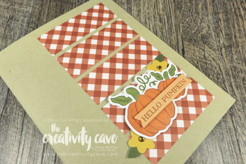 Check a great video tutorial with lots of tips and tricks for creating these two adorable alternative projects from Stampin Up's Hello Pumpkin September 2020 Kit on my blog at www.thecreativitycave.com #stampinup #thecreativitycave #paperpumpkin #hellopumpkin #september2020 #alternativeprojects #alternativeideas #handmade #DIY