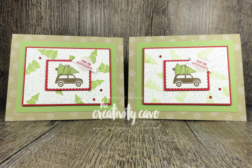 Video tutorial on my blog: www.thecreativitycave.com #stampinup