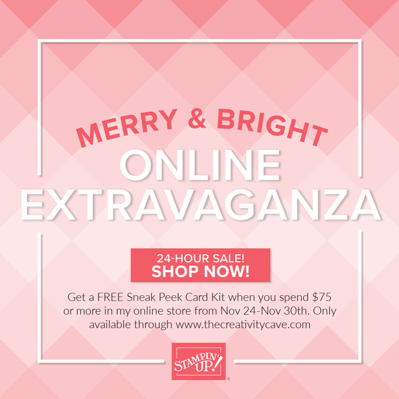 Cave Merry and Bright grpahic