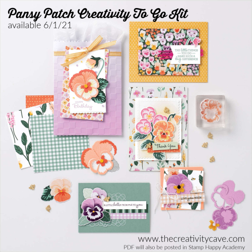 Pansy Patch Creativity To GO Kit 1