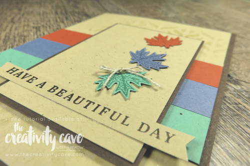 Simple to Stunning Video featuring Stampin Up's Gilded Autumn Bundle on my blog at www.thecreativitycave.com and make sure to sign up for my Gilded Autumn Online class here:http://events.constantcontact.com/register/event?llr=gr8zpc9ab&oeidk=a07eh9cbau5701d2d22  #thecreativitycave #stampinup #simpletostunningsundays #gildedautumn