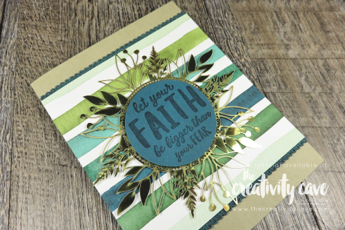Check out the video tutorial with some great tips and tricks for this stunning (yet simple) card featuring Stampin Up's Forever Greenery Suite and Ridiculously Awesome Stamp Set on my blog: www.thecreativitycave.com and you can also purchase the Forever Greenery All Star Tutorial Bundle for $15 or free with a $50 purchase in my Stampin Up Store during November 2020 here:https://the-creativity-cave.myshopify.com/products/forever-greenery-online-class  #stampinup #thecreativitycave #forevergreenery #gold #cardmaking #diy #videotutorial