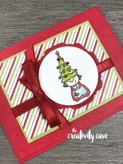 Check out the video tutorial  for this Gnome for the Holidays card on my blog: www.thecreativitycave.com