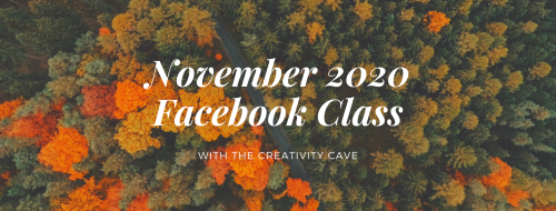 Orange and Green Forest Fall Facebook Cover