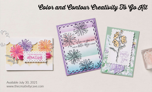 Color and Contour creativity to go kit